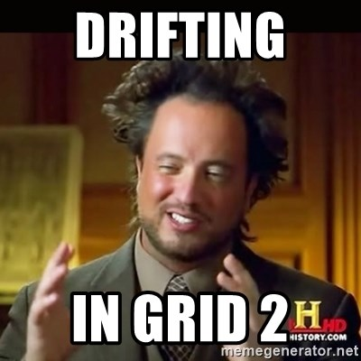 History guy - Drifting  in Grid 2