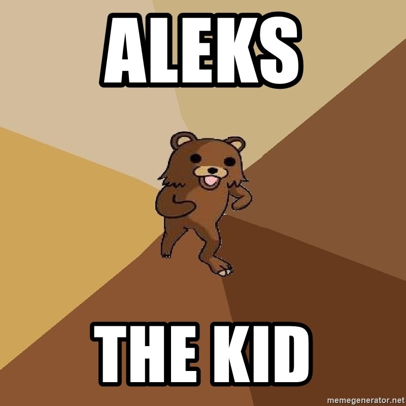 Pedo Bear From Beyond - aleks the kid
