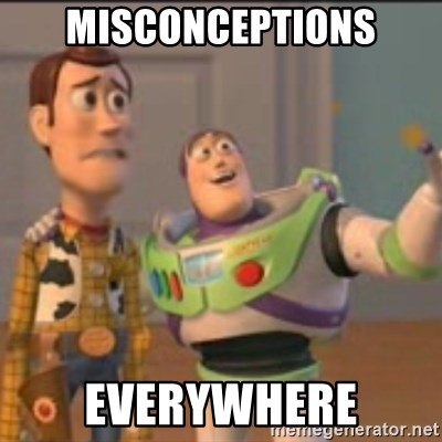 Buzz - Misconceptions everywhere