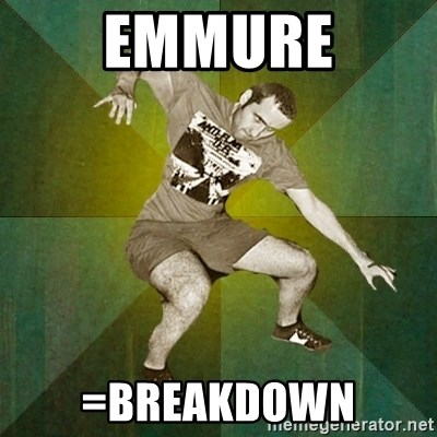 Progressive Mosh Guy - emmure =breakdown