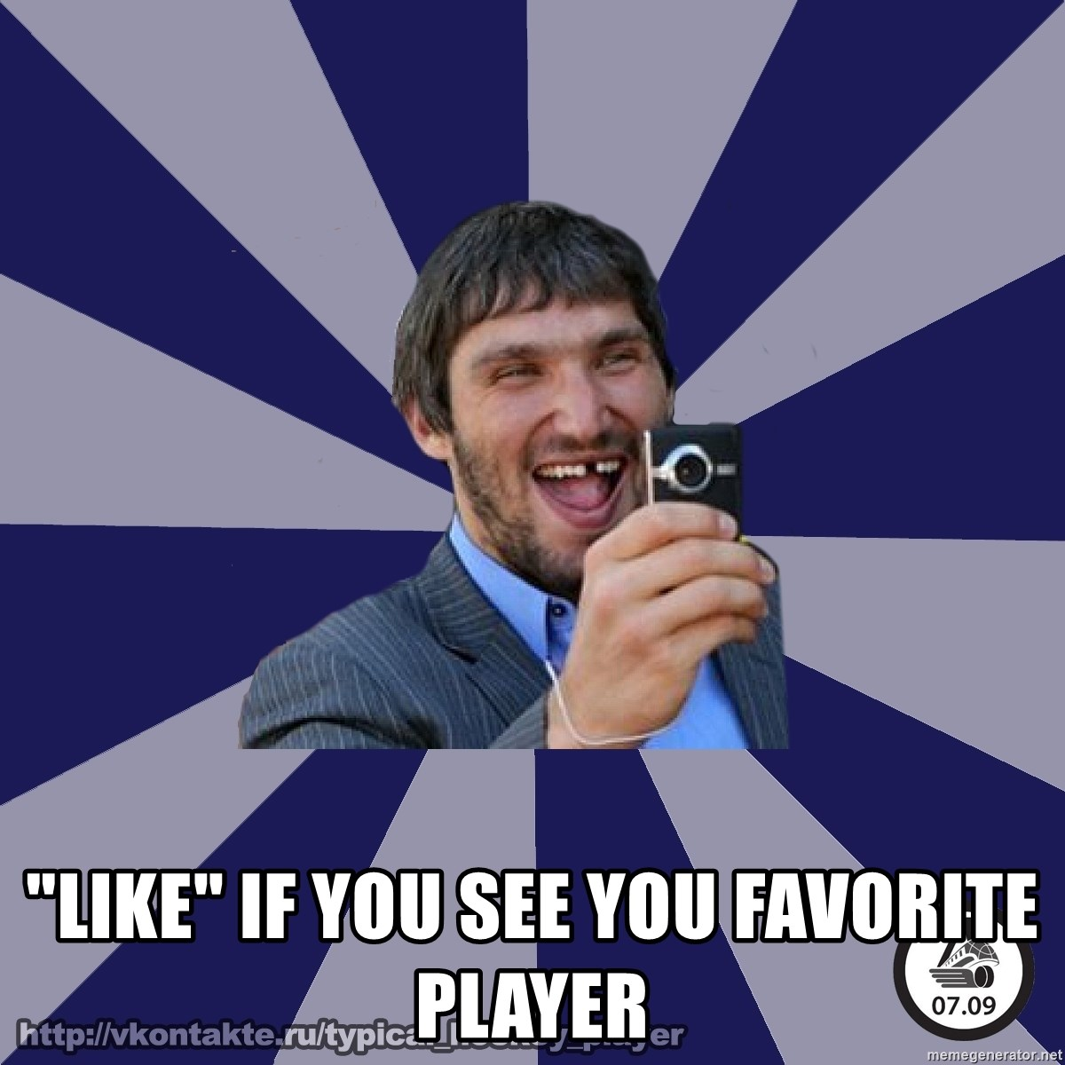 """typical_hockey_player -  """"LIKE"""" IF YOU SEE YOU FAVORITE PLAYER"""