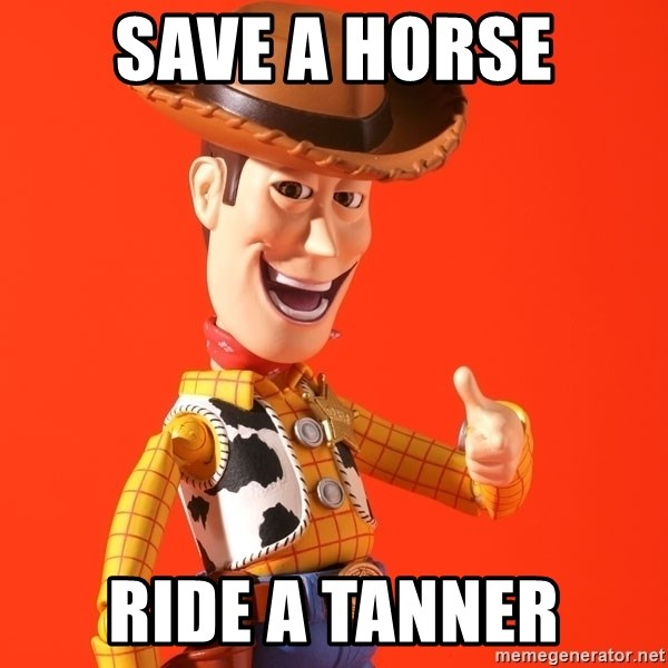 Perv Woody - Save a Horse Ride a Tanner