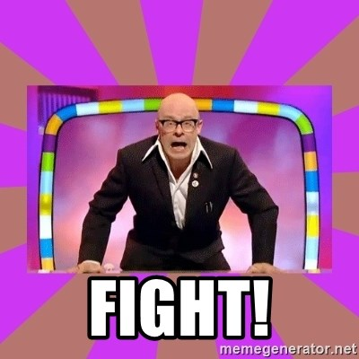 Harry Hill Fight -  FIGHT!