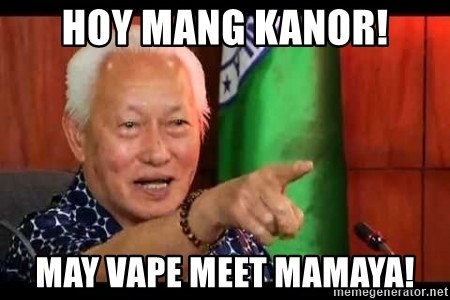Mayor Lim Meme - Hoy Mang Kanor! May vape meet mamaya!