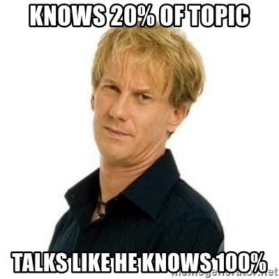 Stupid Opie - knows 20% of topic talks like he knows 100%