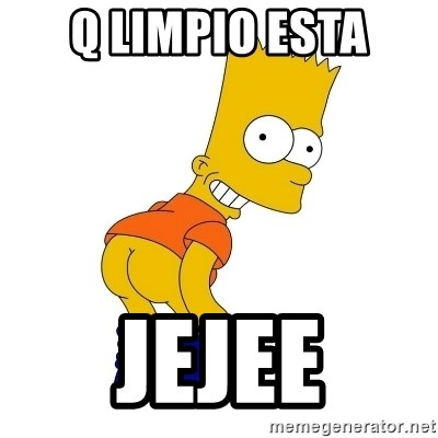 Barthes Simpson - Q LIMPIO ESTA JEJEE
