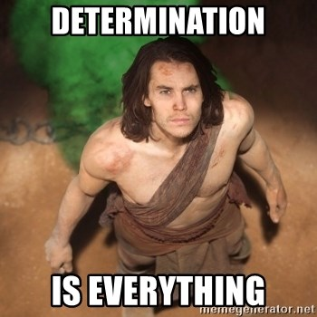 John Farter - DETERMINATION IS EVERYTHING