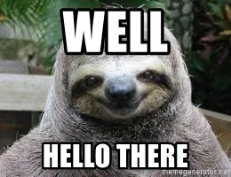 Sexual Sloth - Well Hello there