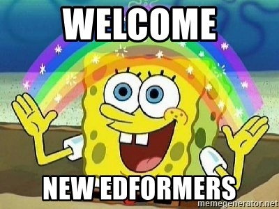 Imagination - Welcome new edformers