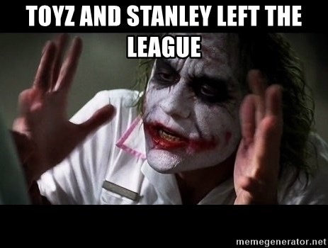 joker mind loss - toyz and stanley left the league