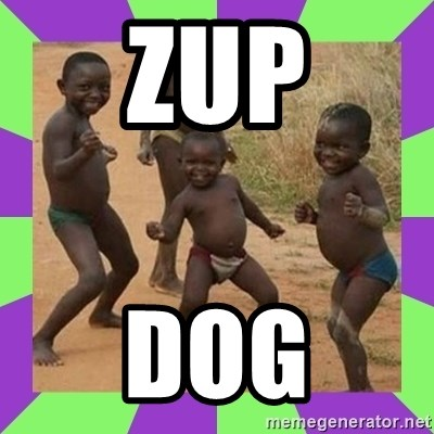 african kids dancing - ZUP DOG