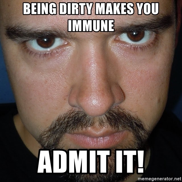 Scary Nathan - Being Dirty Makes you Immune Admit It!