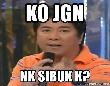 willie revillame you dont do that to me - ko jgn  nk sibuk k?