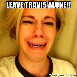 Chris Crocker - Leave Travis Alone!!