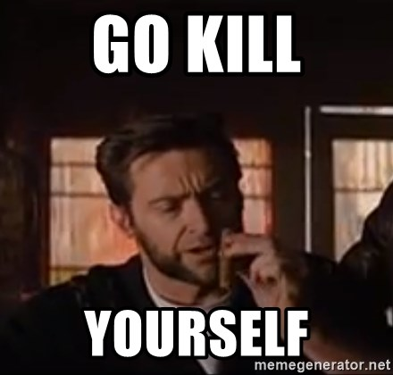 Wolverine First Class - go kill yourself