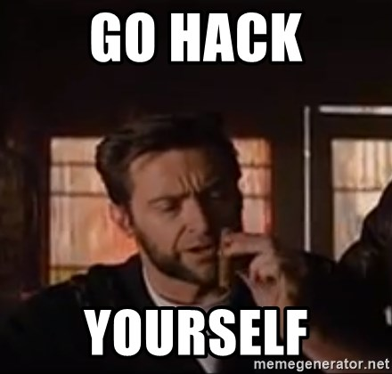 Wolverine First Class - Go hack yourself
