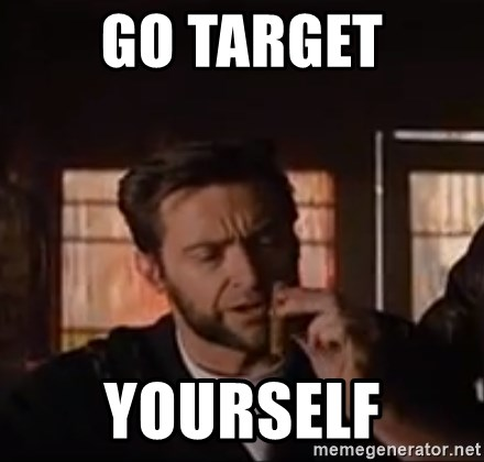 Wolverine First Class - go target yourself