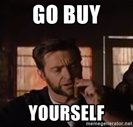 Wolverine First Class - Go buy yourself