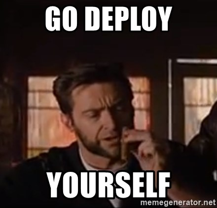 Wolverine First Class - go deploy yourself