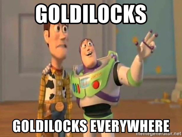 X, X Everywhere  - GOLDILOCKS GOLDILOCKS EVERYWHERE
