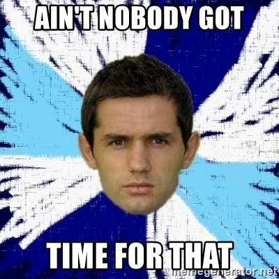 LULIC - AIN'T NOBODY GOT TIME FOR THAT
