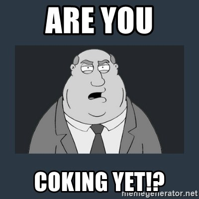 Family Guy Smoke - Are you Coking yet!?