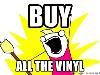 X ALL THE THINGS - bUY all the vinyl