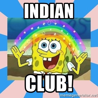 Spongebob Imagination - Indian Club!