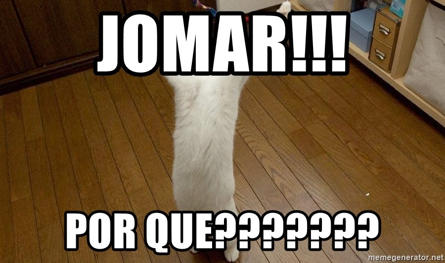 praise the lord cat - jomar!!! por que???????