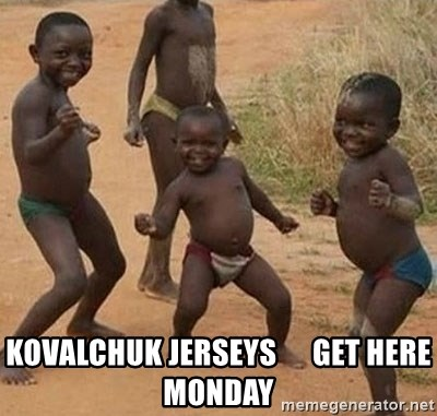 Dancing African Kid -  Kovalchuk jerseys      get here monday