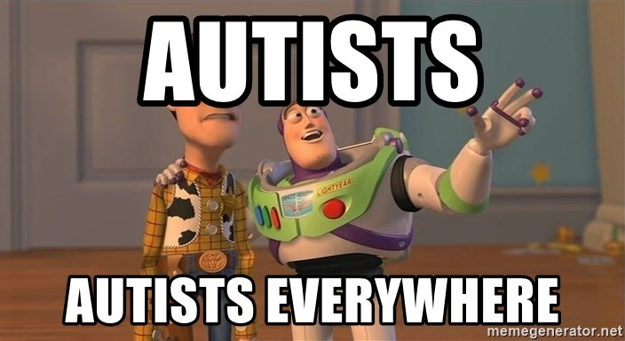 ORIGINAL TOY STORY - autists autists everywhere