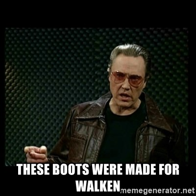 Christopher Walken Cowbell -  These boots were made for walken