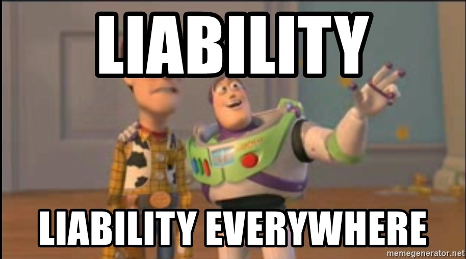 X, X Everywhere  - Liability Liability everywhere