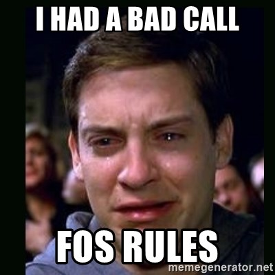 crying peter parker - I HAD A BAD CALL FOS RULES