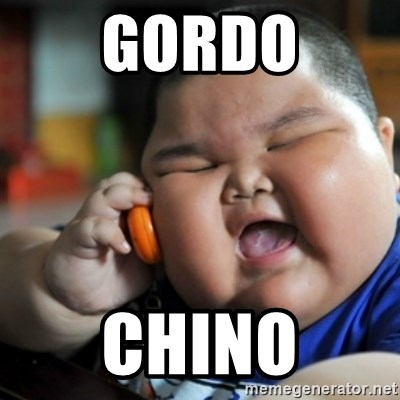 fat chinese kid - GORDO CHINO