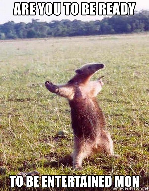 Anteater - Are you to be ready To be entertained mon
