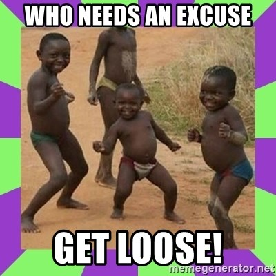 african kids dancing - who needs an excuse get loose!