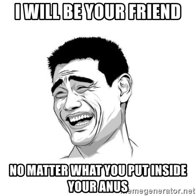 yao ming hd - I will be your friend No matter what you put inside your anus