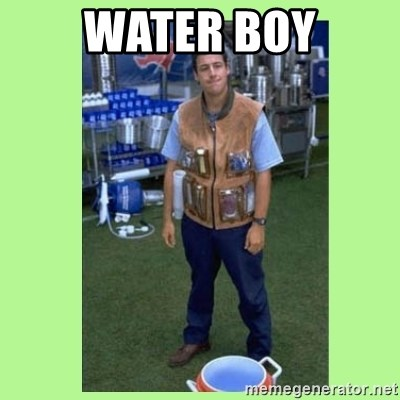 The Waterboy - Water boy