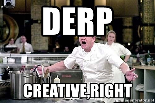 chef ramsay chuck norris - DERP CREATIVE,RIGHT
