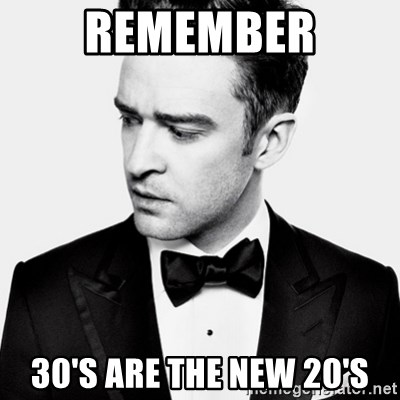 Good Guy Justin Timberlake - Remember 30's are the new 20's