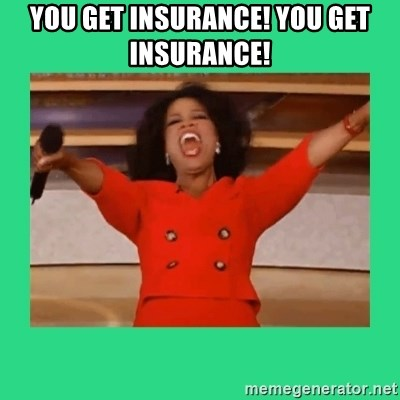 Oprah Car - You get insurance! You Get insurance!