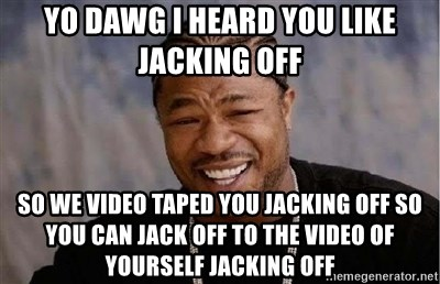 Video jacking off