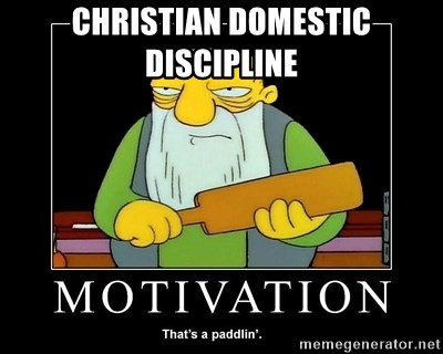 What is christian domestic discipline