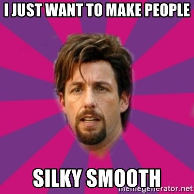 Image result for zohan silky smooth