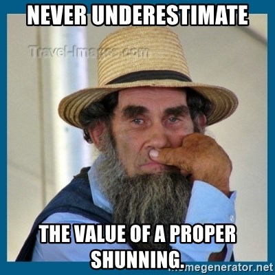 44355143 never underestimate the value of a proper shunning amish guy