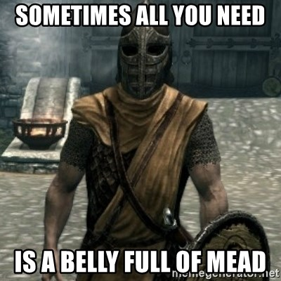 44425623 sometimes all you need is a belly full of mead skyrim whiterun
