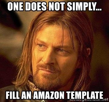 Boromir One Does Not Simply Fill An Template