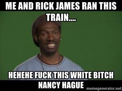 Train This White Bitch