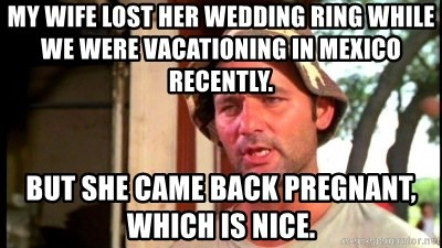 My Wife Lost Her Wedding Ring While We Were Vacationing In Mexico